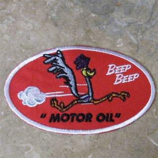 Racing Wappen Road Runner MOTOR OIL ロードランナー ワッペン 輸入雑貨/海外雑貨/直輸入/アメリカ雑貨