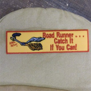 Racing Wappen Road Runner Road Runner YE Catch It If You Can! ロードランナー ワッペン 輸入雑貨/海外雑貨/直輸入/アメリカ雑貨