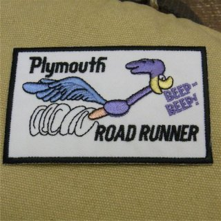 Racing Wappen Road Runner Plymouth ロードランナー ワッペン 輸入雑貨/海外雑貨/直輸入/アメリカ雑貨