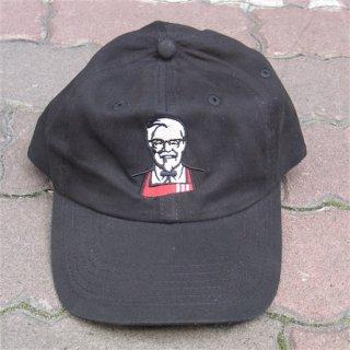 KFC ケンタッキーフライドチキン CAP キャップ ブラック  輸入雑貨/海外雑貨/直輸入/アメリカ雑貨