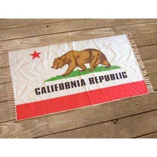 CALIFORNIA REPUBLIC カリフォルニア パブリック フロアーマット 輸入雑貨/海外雑貨/直輸入/アメリカ雑貨