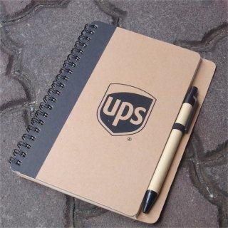 UPS  NOTE & PEN SET  ユナイテッドパーセルサービス ノート&ペンセット  輸入雑貨/海外雑貨/直輸入/アメリカ雑貨
