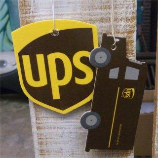 UPS  AIRFRESHNER 2PK  ユナイテッドパーセルサービス エアーフレッシュナー 2パック入り 輸入雑貨/海外雑貨/直輸入/アメリカ雑貨