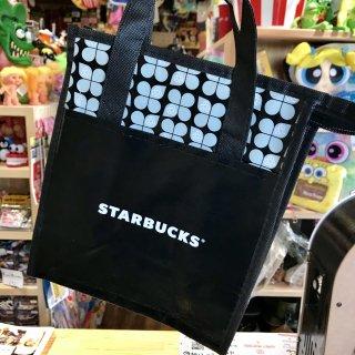 北米限定!! STARBUCKS LUNCH TOTE BAG スターバックス スタバ ランチバッグ ブラック 輸入雑貨/海外雑貨/直輸入/アメリカ雑貨