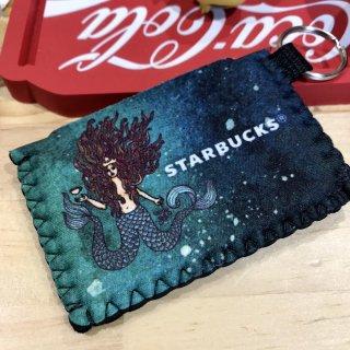 北米限定!! STARBUCKS CARD HOLDER KEYCHAIN スターバックス スタバ ランチバッグ  輸入雑貨/海外雑貨/直輸入/アメリカ雑貨