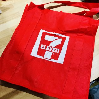 USA 7-ELEVEN ECO BAG RED セブンイレブン エコバッグ  レッド 輸入雑貨/海外雑貨/直輸入/アメリカ雑貨