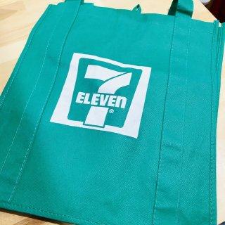 USA 7-ELEVEN ECO BAG GREEN  セブンイレブン エコバッグ  グリーン 輸入雑貨/海外雑貨/直輸入/アメリカ雑貨