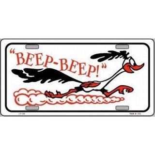USライセンスプレート ビープビープ  Road Runner   ロードランナー  輸入雑貨/海外雑貨/直輸入/アメリカ雑貨