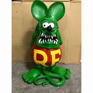 限定生産品!!Rat Fink JUMBO STATUE (RAF564:GR) ラットフィンク ジャンボ スタチュー グリーン 輸入雑貨/海外雑貨/直輸入/アメリカ雑貨