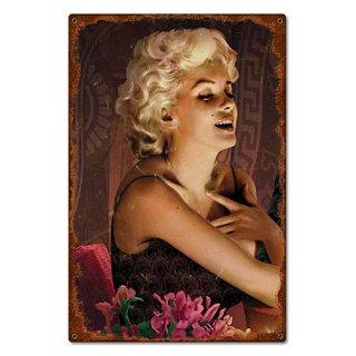 【スティールサイン】【スター】Marilyn's Touch 看板 アメリカ製 輸入雑貨/海外雑貨/直輸入/アメリカ雑貨/アメ雑