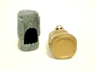 鼻から煙ぼわ〜んの モアイ 灰皿 1   輸入雑貨/海外雑貨/直輸入/アメリカ雑貨/アメ雑