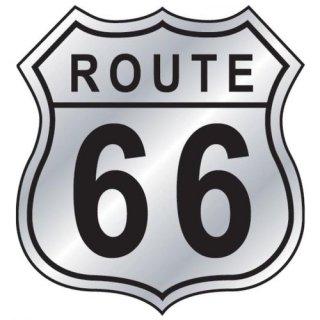 US ルート66 ステッカー S ハイウェイサイン  輸入雑貨/海外雑貨/直輸入/アメリカ雑貨/アメ雑