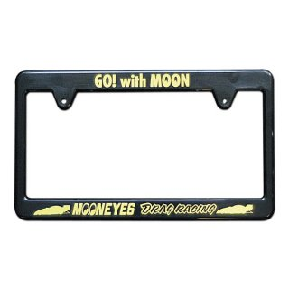 ムーンアイズ MOONEYES ブラック ライセンス フレーム / Racing Division [MG057BKDR] 輸入雑貨/海外雑貨/直輸入/アメリカ雑貨/アメ雑