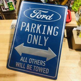 エンボス看板【FORD PARKING】フォード プレート サイン 輸入雑貨/海外雑貨/直輸入/アメリカ雑貨/アメ雑