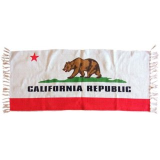 CALIFORNIA REPUBLIC カリフォルニア パブリック キッチンマット 輸入雑貨/海外雑貨/直輸入/アメリカ雑貨
