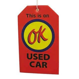 AUTOMOTIVE Air Freshener OK エアフレッシュナー 輸入雑貨/海外雑貨/直輸入/アメリカ雑貨