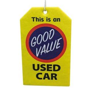 AUTOMOTIVE Air Freshener GOOD VALUE エアフレッシュナー 輸入雑貨/海外雑貨/直輸入/アメリカ雑貨