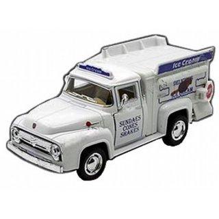 US  1956 フォード F 100 アイスクリームトラック ミニカー 輸入雑貨/海外雑貨/直輸入/アメリカ雑貨