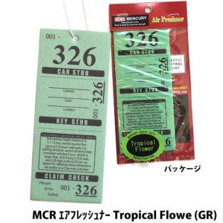 MERCURY MCR エアフレッシュナー Tropical Flowe (GR)    輸入雑貨/海外雑貨/直輸入/アメリカ雑貨/アメ雑