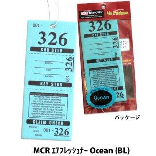 MERCURY MCR エアフレッシュナー Tropical Flowe (BL)    輸入雑貨/海外雑貨/直輸入/アメリカ雑貨/アメ雑