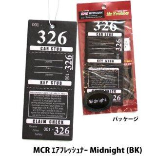 MERCURY MCR エアフレッシュナー Tropical Flowe (BK)    輸入雑貨/海外雑貨/直輸入/アメリカ雑貨/アメ雑