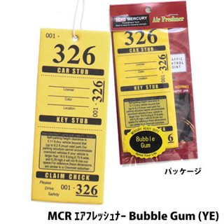 MERCURY MCR エアフレッシュナー Tropical Flowe (YE)    輸入雑貨/海外雑貨/直輸入/アメリカ雑貨/アメ雑