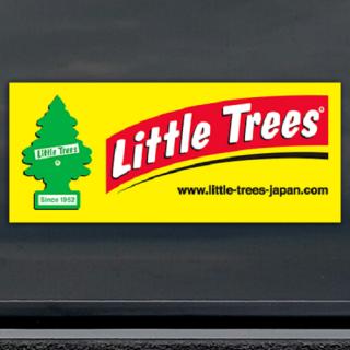 Little Trees リトルツリー ステッカー バナー ロゴ 輸入雑貨/海外雑貨/直輸入/アメリカ雑貨/アメ雑/リトルツリー/エアーフレッシュナー
