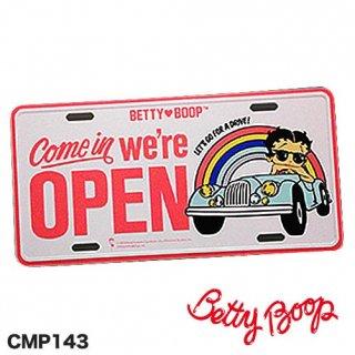 ベティ コマーシャル プレート(Betty Boop CMP-7) 輸入雑貨/アメリカ雑貨