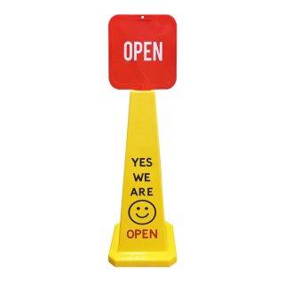 SAFETY CONE 看板 カラーコーン OPEN CLOSE 輸入雑貨/海外雑貨/直輸入/アメリカ雑貨