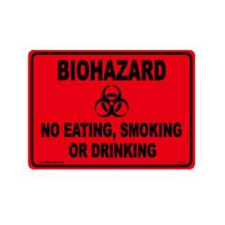 プラスチック サイン ボード Plastic Sign Board (CA-42バイオハザード1RD) 輸入雑貨/アメリカ雑貨