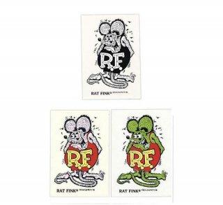 Rat Fink Made in USA ラットフィンク ステッカー ブラック 輸入雑貨/アメリカ雑貨