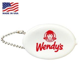 ウェンデーズ ラバー コインケース Wendys COIN CASE  Wendys White 輸入雑貨/アメリカ雑貨