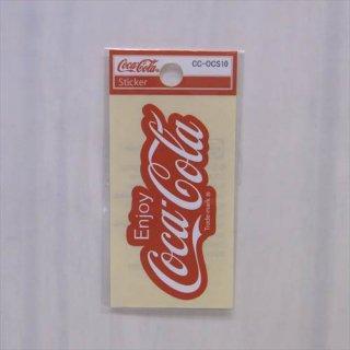 COKE☆ミニステッカー(CC-OCS10:80年代ロゴ) コカコーラ ステッカー  輸入雑貨/海外雑貨/直輸入/アメリカ雑貨