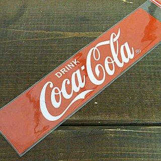 COKE☆COKE M (CC-BS1:DRINK☆RED) コカコーラ ステッカー  輸入雑貨/海外雑貨/直輸入/アメリカ雑貨