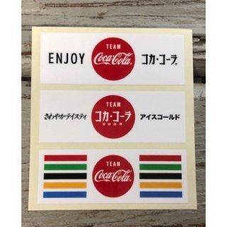 Team Coca-Cola ステッカー (TC-S8) VALUE 3pcs /2020 olympic  コカコーラ ステッカー  輸入雑貨/海外雑貨/直輸入/アメリカ雑貨