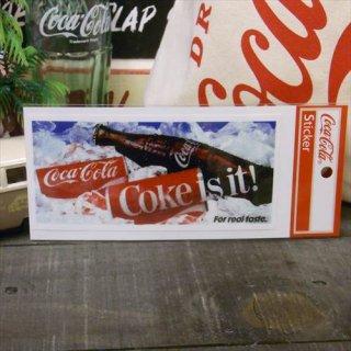 ☆COKE☆ (CC-NS9/NOSTALGIA)コカコーラ ステッカー  輸入雑貨/海外雑貨/直輸入/アメリカ雑貨