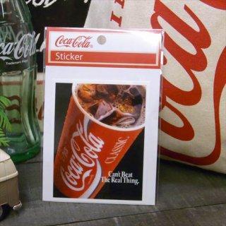 ☆COKE☆  (CC-NS3/NOSTALGIA)コカコーラ ステッカー  輸入雑貨/海外雑貨/直輸入/アメリカ雑貨