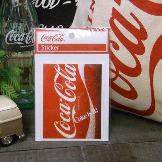 ☆COKE☆  (CC-NS1/NOSTALGIA)コカコーラ ステッカー  輸入雑貨/海外雑貨/直輸入/アメリカ雑貨