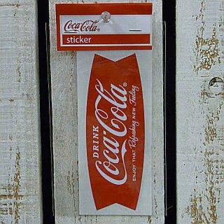 ☆COKE☆    (CC-BA12:フィッシュ)コカコーラ ステッカー  輸入雑貨/海外雑貨/直輸入/アメリカ雑貨