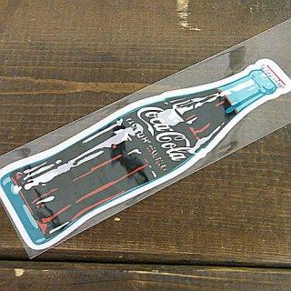 ステッカー☆COKE M (CC-BS7:ボトル) コカコーラ ステッカー  輸入雑貨/海外雑貨/直輸入/アメリカ雑貨
