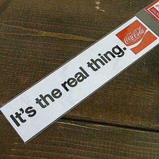 ステッカー☆COKE M (CC-BS3:ITs the Real)コカコーラ ステッカー  輸入雑貨/海外雑貨/直輸入/アメリカ雑貨
