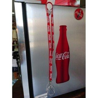 Coca-Cola LANYARD with BOTTLE HOLDER (CC-LYH1) コカコーラ ランヤード ネックストラップ  輸入雑貨/海外雑貨/直輸入/アメリカ雑貨