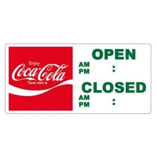 ステッカー☆COKE☆ (CC-SSJ3:Open-Closed) コカコーラ ステッカー  輸入雑貨/海外雑貨/直輸入/アメリカ雑貨
