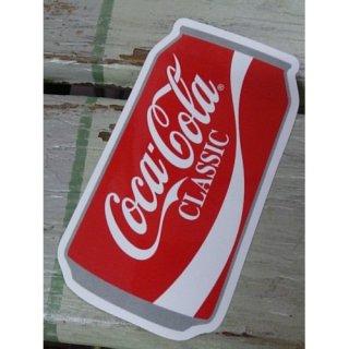 (CC-BA59:コカ・コーラ CLASSIC 缶型) コカコーラ ステッカー  輸入雑貨/海外雑貨/直輸入/アメリカ雑貨