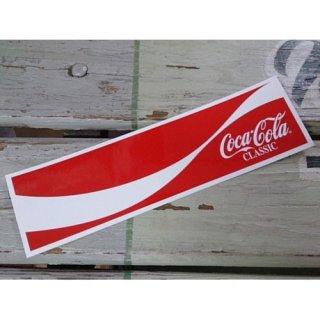 (CC-BS17:コカ・コーラ ダイナミックリボン) コカコーラ ステッカー  輸入雑貨/海外雑貨/直輸入/アメリカ雑貨