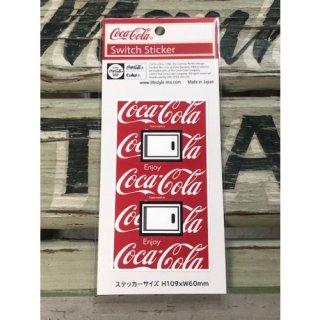Coca-Cola SWITCH ステッカー Coca-Cola1-総柄M (CC-ES5-2)コカコーラ ステッカー  輸入雑貨/海外雑貨/直輸入/アメリカ雑貨