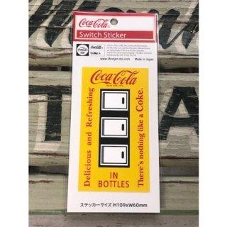 Coca-Cola SWITCH ステッカー IN BOTTLE (CC-ES7-3)コカコーラ ステッカー  輸入雑貨/海外雑貨/直輸入/アメリカ雑貨