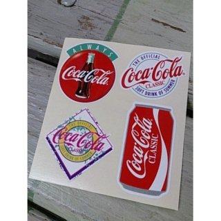ステッカー☆COKE☆ (CC-BA67:コカ・コーラ VALUE ALWAYS DISK 他)コカコーラ ステッカー  輸入雑貨/海外雑貨/直輸入/アメリカ雑貨