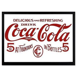 COKE コカコーラ ガレージ ミラー COCA-COLA IN BOTTLES