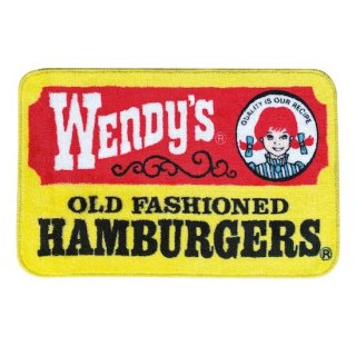 ウェンディーズ マット Wendys MAT ★Wendys OLD LOGO Yellow